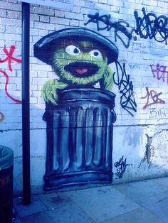 Sesame Street Graffiti « Cakehead Loves Evil