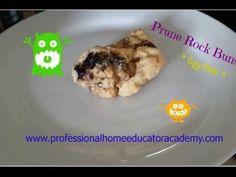 PHEA Teaching Nugget How to make Prune Rock Buns - Egg Free