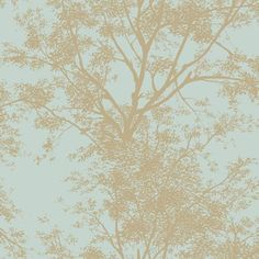 Silhouettes Contemporary Trees Wallpaper York Wallcoverings Wallpaper Wall Decor Home Deco