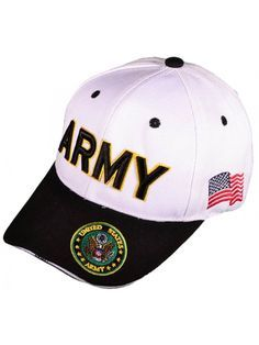 2c72c60dfcc U.S. Army Hat Black Logo Baseball Cap with Yellow Ribbon Military Headwear.  See more. Hats  amp  Caps Women s Men Fashion
