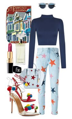"""""""Untitled #104"""" by ana-aleta ❤ liked on Polyvore featuring STELLA McCARTNEY, WearAll, Christian Dior, Aquazzura, Chanel and Calvin Klein"""