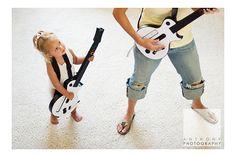 Cute Kids - guitar hero - Anthony Photography