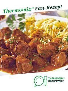 Ungarisches Gulasch von Brutzelhexe. Ein Thermomix ®️️ Rezept aus der Kategorie Hauptgerichte mit Fleisch auf www.rezeptwelt.de, der Thermomix ®️️ Community.