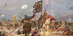 The Battle of Kosovo, 1389 (Click on picture for more information). Serbian History - (V)