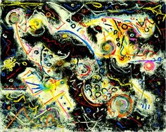 Jackson Pollock at the Guggenheim: Works of Swirls and Pixie Dust ...