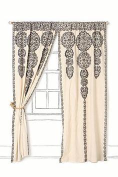 a curtain on morocco
