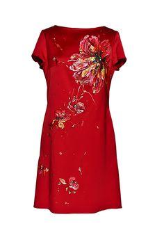Cocktailkleid handbemalt by Ella Deck Couture Shirt Dress, T Shirt, High Fashion, Design, Dresses, Haute Couture, Fashion, Hamburg, Gowns