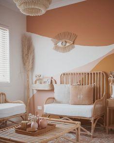 Room Ideas Bedroom, Bedroom Decor, Wall Art Bedroom, Bedroom Wall Paint Colors, Boho Room, Aesthetic Room Decor, New Room, Living Room Decor, Interior Design