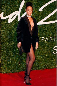 British Fashion Awards 2014: Rihanna