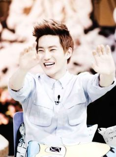 I would like to go to Korea and meet Suho and steal him and make him my boyfriend.