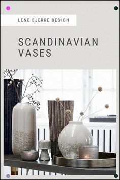 Scandinavian Vases - A Wide Range Of Beautiful Vases And Bottles For Any Style Whether You Go For The Classic White Look, Fun And Colorful Vases, Clear And Organic Shape Bottles, Or Raw And Natural Ceramic Vases. Discover Vases And Bottles In All Shapes And Colors To Match Your Style. #Vases #Homedecor #Lenebjerre Home Decor Accessories, Decorative Accessories, Scandinavian Vases, Organic Shapes, Classic White, Memory Foam, Bottles, Your Style, Place Card Holders