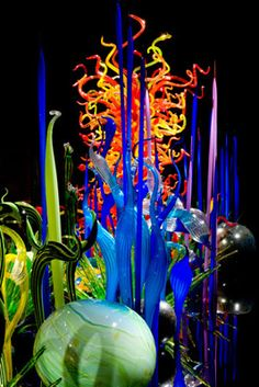 Dale Chihuly  - Mille Fiori (Detail)
