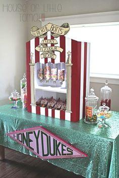 Harry Potter Party A Very Harry Birthday Part 5: Honeydukes