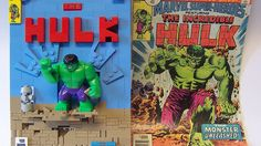 Comic Book Covers Look Bricky in These LEGO Re-Creations « Nerdist