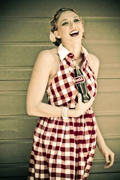 PinUp picnic Two Piece in Gingham