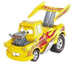 Disney / Pixar CARS 2 Movie 155 Die Cast Car Oversized Vehicle #12 FUNNY CAR MATER by Mattel. $7.99. Original Deluxe Funny Car Mater Disney Pixar Cars 2