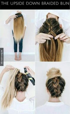 18 No Heat Hairstyles Everyday heat styling can be damaging for your hair. That's why we've gathered some of the best and elegant no heat hairstyles for you. These Hairstyles take just a few minutes and the effect is as if you've really spent much time. Easy Everyday Hairstyles, Easy Hairstyles For School, No Heat Hairstyles, Pretty Hairstyles, Hairstyles 2018, Simple Hairstyles, Fashion Hairstyles, Heatless Hairstyles, Greasy Hair Hairstyles
