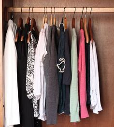 "Love this gal's tips to maintaining a ""comfortable dressy"" wardrobe with minimal items."