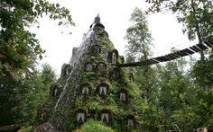 #Travel Hotel La Montaña Mágica,chile