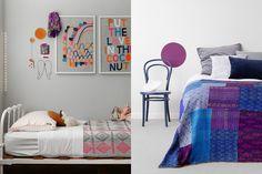 GALLERY   Fossik - vintage kantha quilt/ kids room