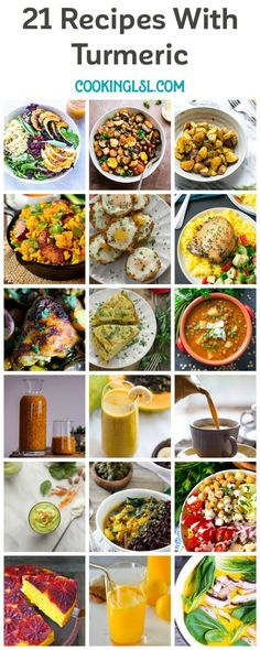 21 Recipes Using Turmeric | Cooking LSL