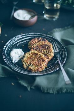 Quick and easy lentil cakes