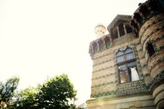 What a beautiful... in the morning of the big day@El Capricho de Gaudí Wedding, Comillas,  #Cantabria #Spain