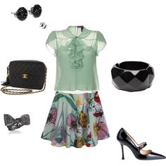 office sleek, created by jaki-717 on Polyvore
