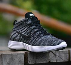 Nike Lunar Flyknit Chukka sneaker shoes  Black - Carbon GREY  100% AUTHENTIC  DESCRIPTION  ITEM DESCRIPTION  SIZES AVAILABLE: for women  US  5.5  6.5  7  8  8.5  UK  3  4  4.5  5.5  6  EU  36  37  38  39  40  CM  22.5  23.5  24  25  25.5  · · W...