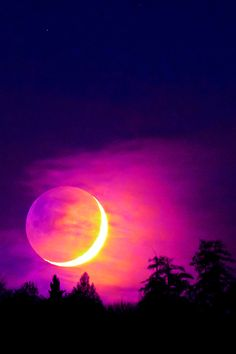 Amazingly Colorful Eclipse
