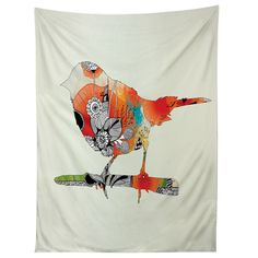 Iveta Abolina Little Bird Tapestry | DENY Designs Home Accessories