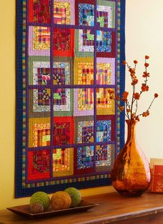 Block Party. The link does not take you to a site with anything to do with this quilt but I love the quilt!