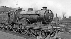 62527: Cambridge Locomotive Depot, with a 'Super-Claud' 4-4-0 in 1949 © Copyright Ben Brooksbank and licensed for reuse under this Creative Commons Licence
