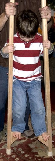 The RunnerDuck Stilts plan, is a step by step instructions on how to build stilts for kids.