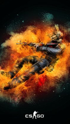 Check out this fantastic collection of CS Go Mobile wallpapers, with 19 CS Go Mobile background images for your desktop, phone or tablet. Wallpaper Cs Go, Cs Go Wallpapers, Game Wallpaper Iphone, 4k Wallpaper For Mobile, Gaming Wallpapers, Supreme Wallpaper, Most Beautiful Wallpaper, Great Backgrounds, Game Art