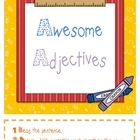 Two fun activities for students to practice identifying appropriate adjectives to describe nouns in sentences and in a graphic organizer. Suitable ...