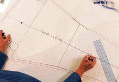 Creativebug Tutorial Draft Leggings with Cal Patch
