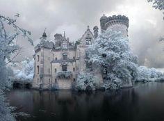 Château de la Mothe-Chandeniers, is a castle at the town of Les Trois-Moutiers in the Poitou-Charentes region of France.