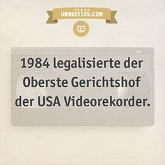 Darum kam es zu dem Rechtsstreit: http://www.unnuetzes.com/wissen/10617/videorekorder/