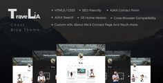 Travelia - Multi-layout Ghost Blog Theme