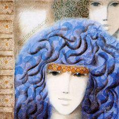 (1) gabriel bonmati art - Facebook Search Travel Around The World, Gabriel, Art Gallery, Winter Hats, Crochet Hats, Culture, Artist, Facebook Search, Women