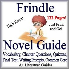 This is a frindle freebie it is from the novel frindle by andrew frindle novel study unit print and paperless google ready self grading tests publicscrutiny Gallery