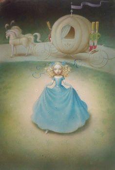 Cinderella by Nicoletta Ceccoli [©2012]