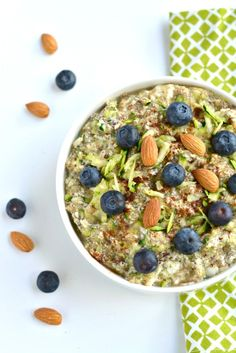 Zucchini Oatless Oatmeal is a Paleo twist on a classic bowl of morning oatmeal. This simple bowl of goodness is a sure way to stay full all morning long!