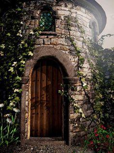 Enchanted Castle Backdrop - 3800