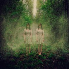 Olivier Ramonteu's Photographs Alter Ego's in His New Series #creepy #photos trendhunter.com