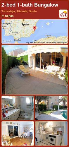 2-bed 1-bath Bungalow in Torrevieja, Alicante, Spain ►€110,000 #PropertyForSaleInSpain
