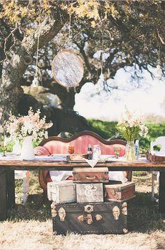 Ideas para decorar bodas vintage