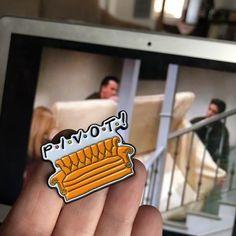 Pivot Enamel Pin