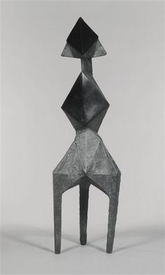 Lynn Chadwick - DIAMOND II, 1970, bronze on MutualArt.com